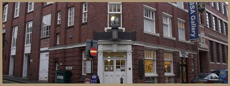 royal birmingham society of artists RBSA jewellery quarter birmingham