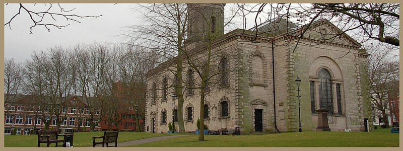 st pauls cathedral and st pauls square in the birmingham jewellery quarter