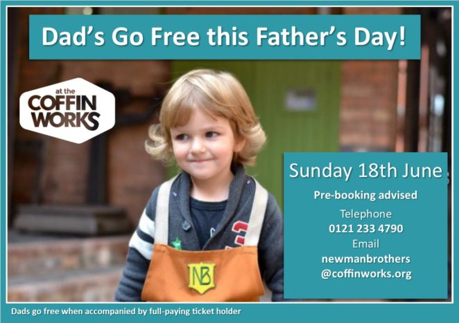 father's day- coffin works