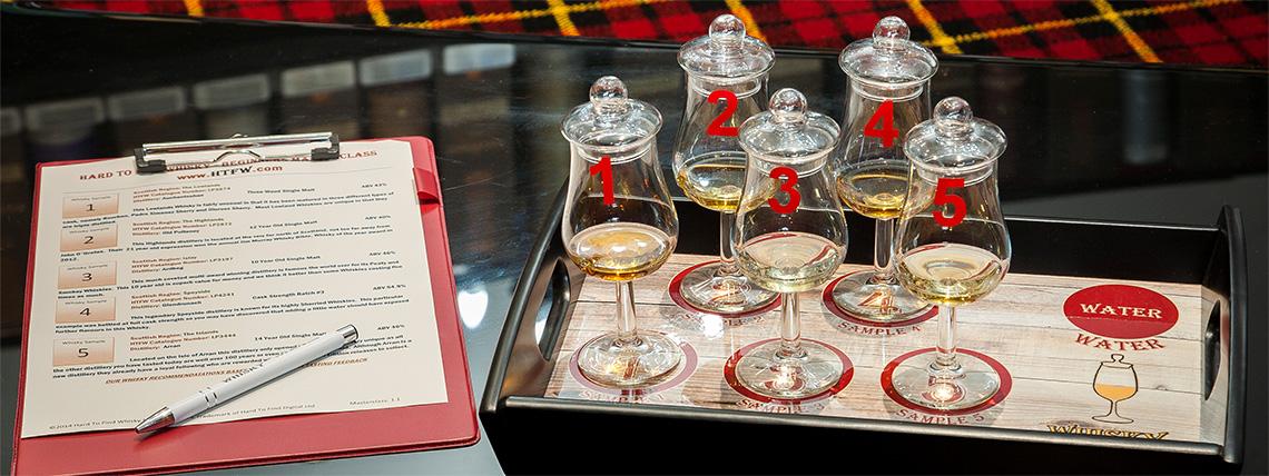 whisky-masterclass Father's day - birmingham Jewellery Quarter