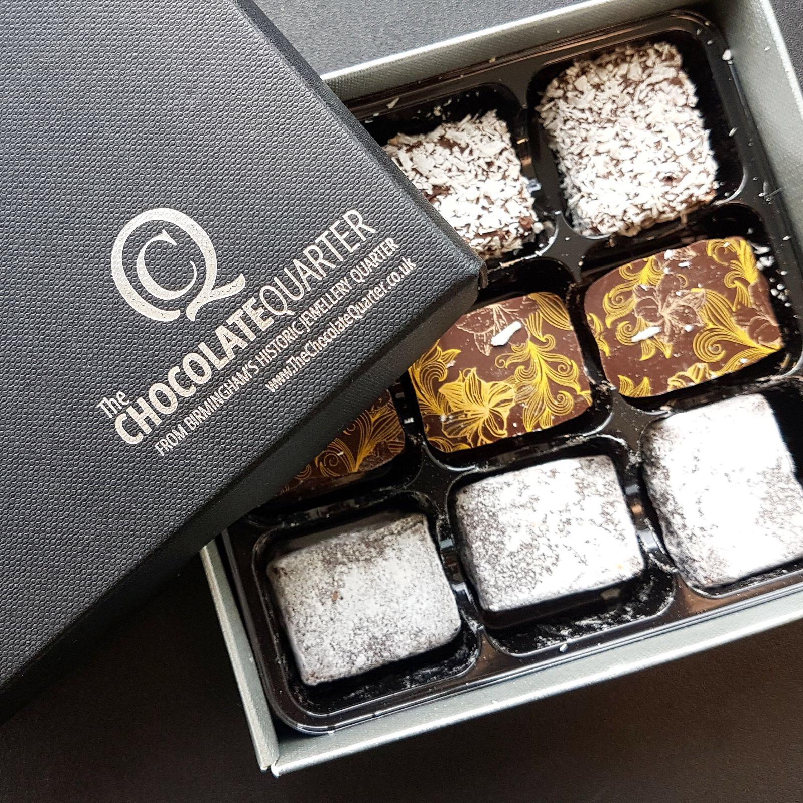 Chocolate Birmingham Jewellery Quarter