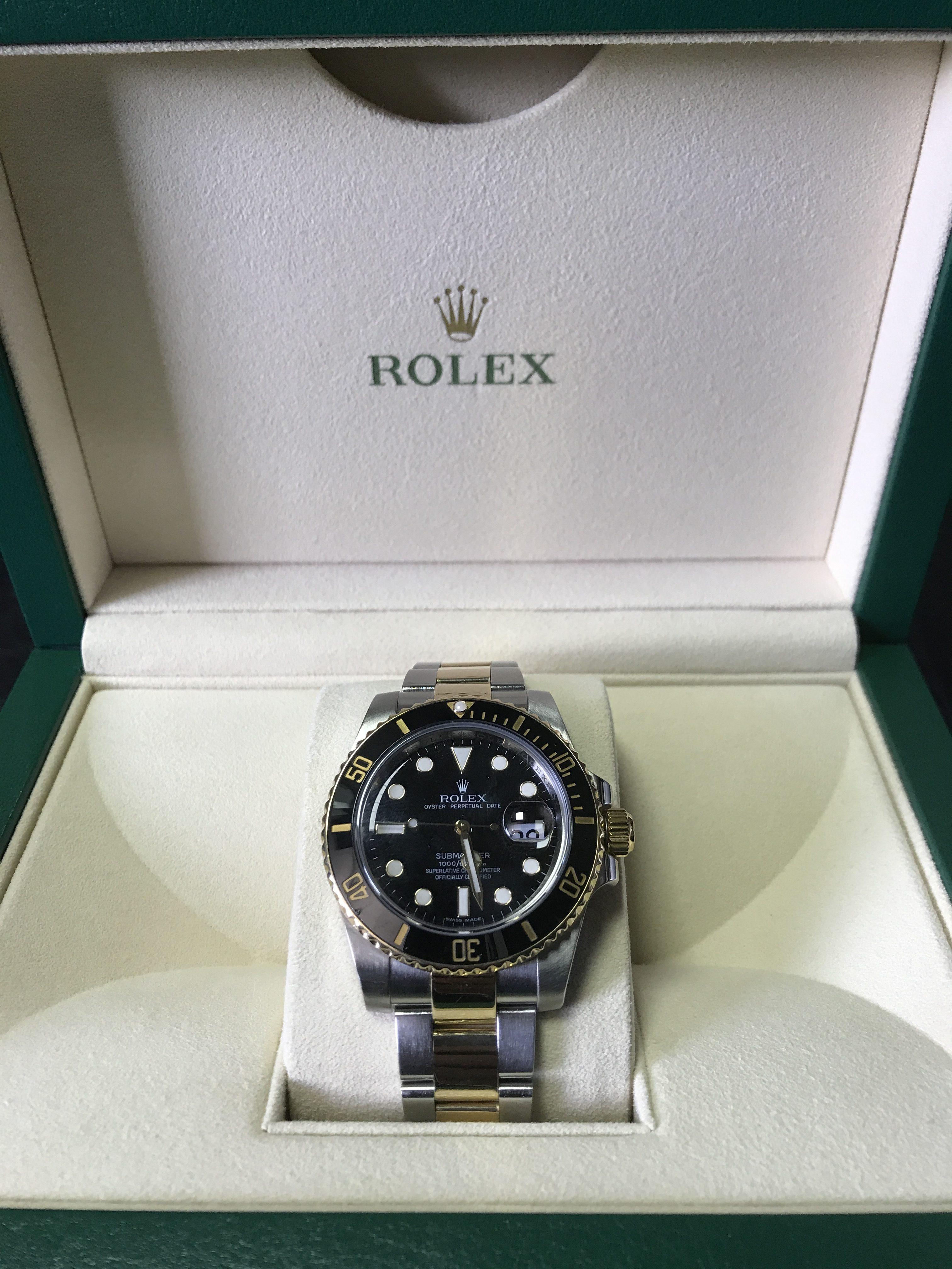 Pre-owned Rolex Submariner Black