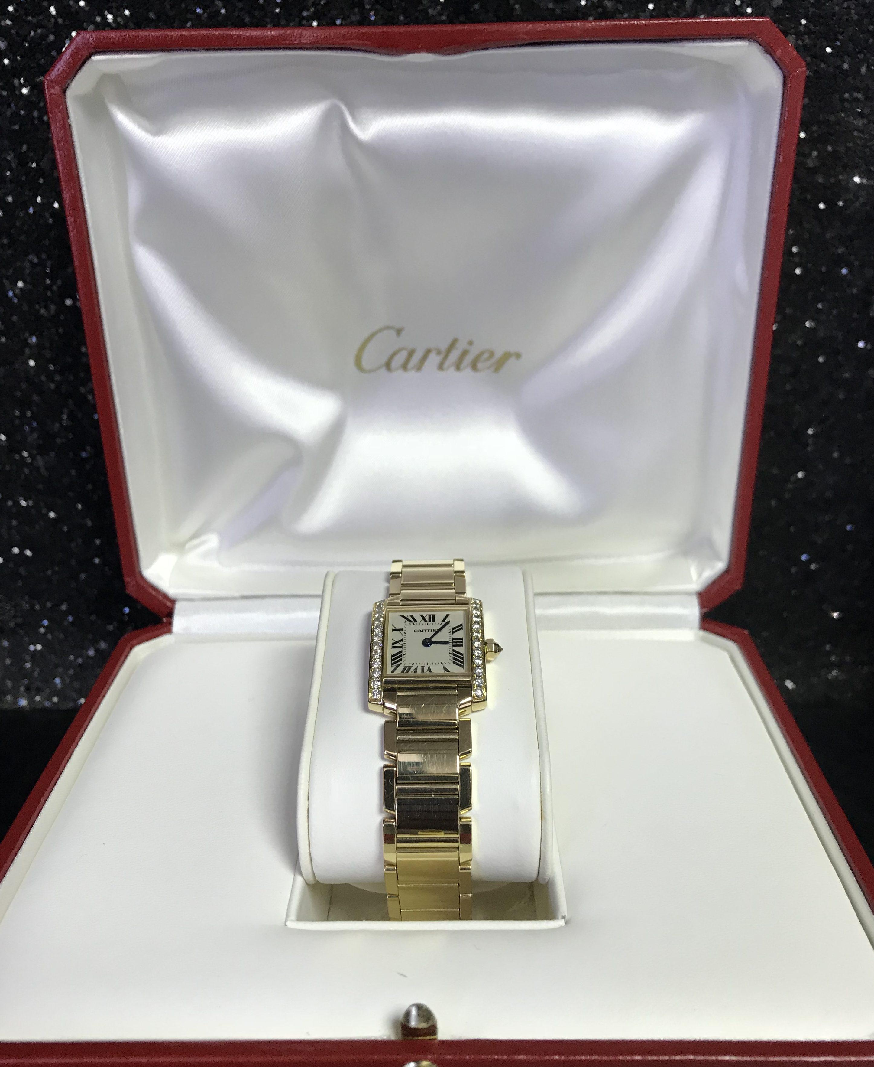 Ladies Cartier Diamond Set