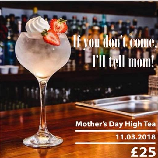 mothers day gin & tea